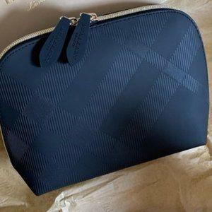 Burberry Beauty zippy pouch Cosmetic Bag Clutch